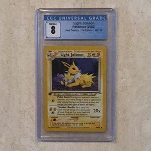 Light Jolteon 1st Edition Pokémon 48/105 2002